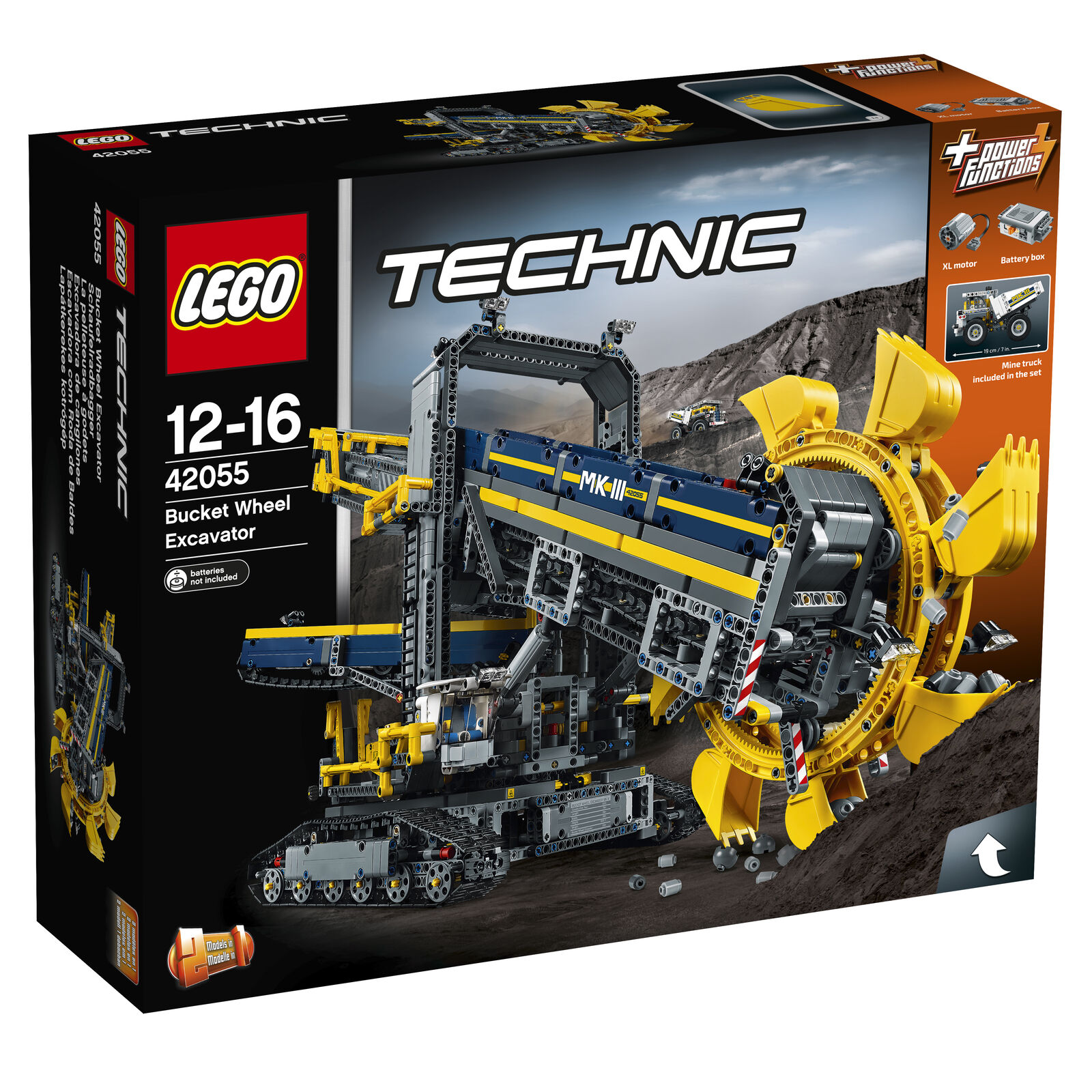 LEGO Technic Bucket Wheel Excavator (42055) 2