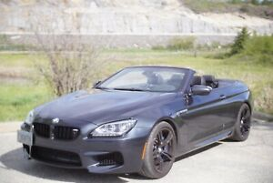 Beautiful Charcoal Grey Bmw M6 Cabriolet