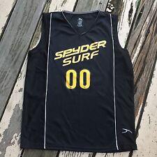 SPYDER SURFBOARDS SURF SHOP Hermosa Beach • Men's Basketball Jersey Tank SMALL