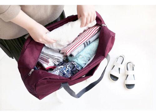 Luggage Storage Bags Suitcase Waterproof Travel Pouch Handbag Folding KI