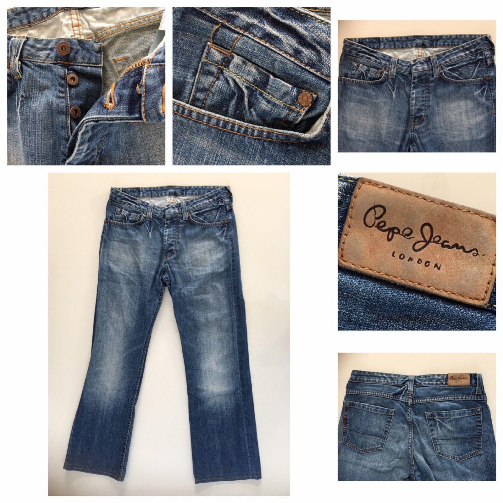 Pepe Herren Jeans M171 M01 Gr. W30 L32 Dark Blau Dunkelblau Hochwertig Wie Neu       Louis, ausführlich    Lebendige Form    Moderne und stilvolle Mode
