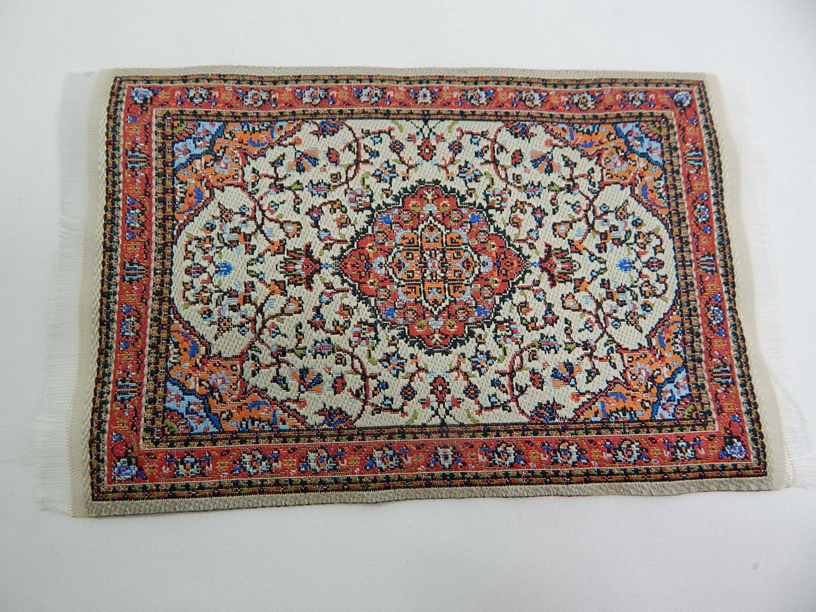 "4/""x6/"" #134KK  Dollhouse Miniature 1:12 Scale Floor Carpet  Woven Area Rug"