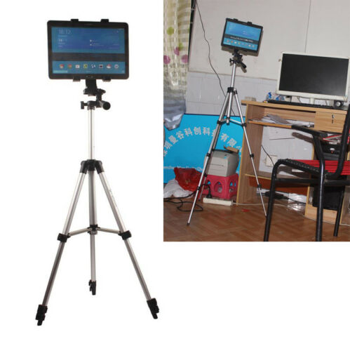 "Aluminum Tripod Tablet Holder Mount For Samsung 7-11/"" inch Tab S S2//3 TabPro"