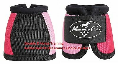 Professional/'s Choice Secure Fit Overreach bell boots Medium M Houndstooth Prof