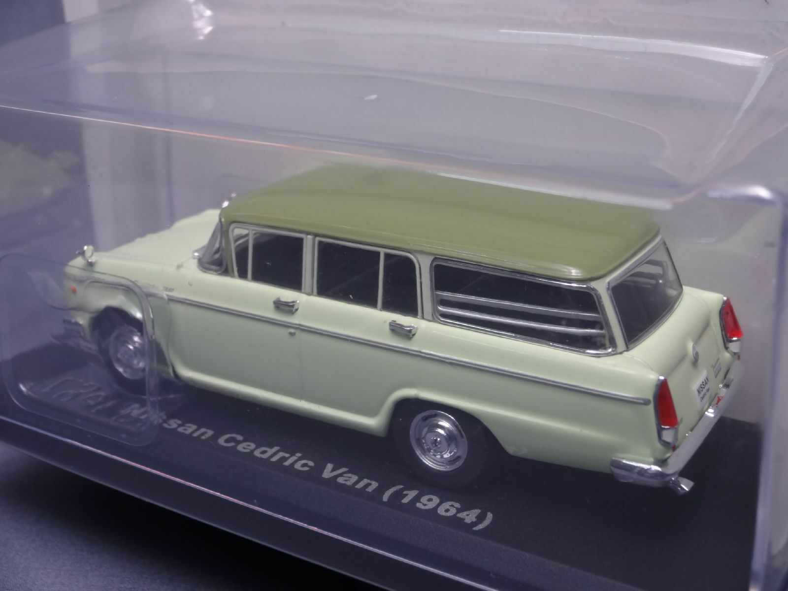 Ixo Nissan Cedric Van 1964 1 43 Scale Box Mini Mini Mini Car Display Diecast Vol 87 1413c2