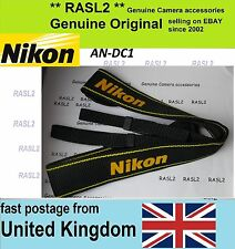 New Genuine Original Nikon Neck Shoulder Strap D1 D2 D3 D4 S H X D90 D100 D200