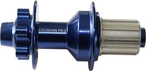 Ruota Posteriore Freeride Hub Erdmann FR-2 azul con Steckachse 135 12 mm 36 Fori