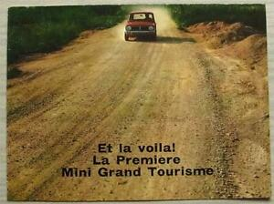 MINI-1275-GT-Car-Sales-Brochure-c1971-FRENCH-TEXT-2706