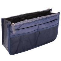 Women Lady Organizer Handbag Travel Bag Insert Liner Purse Organiser Large Tidy