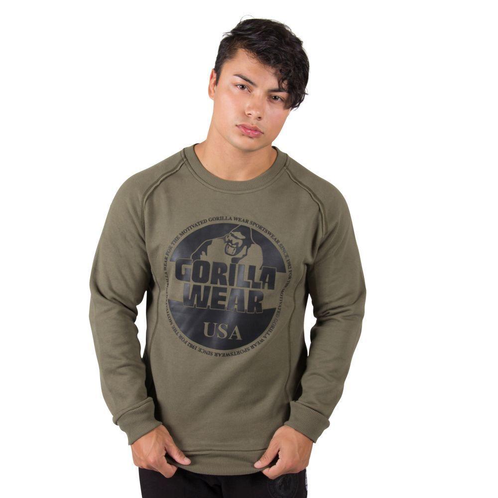 Gorilla Wear Bloomington Blouse Felpa ARMY verde