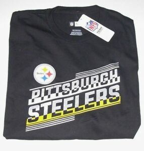 on sale 87a5b fe364 Details about Pittsburgh Steelers NFL T-Shirt Men's size Med LG X-Large or  3XL New w/Tag