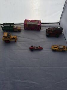 Vintage-Corgi-Bump-And-Go-Dinky-Toy-Cars
