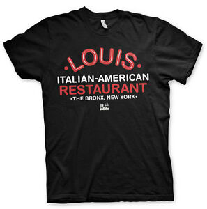 The-Godfather-Louis-Italian-Restaurant-The-Bronx-Der-Pate-Maenner-Men-T-Shirt