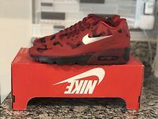 Nike Air Max 90 NS SE GS RedBlack 869946 600 (Size: 4Y