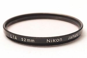 Ship-in-24-Hours-Nikon-Black-Rim-Screw-In-Mount-L1A-52mm-Lens-Filter