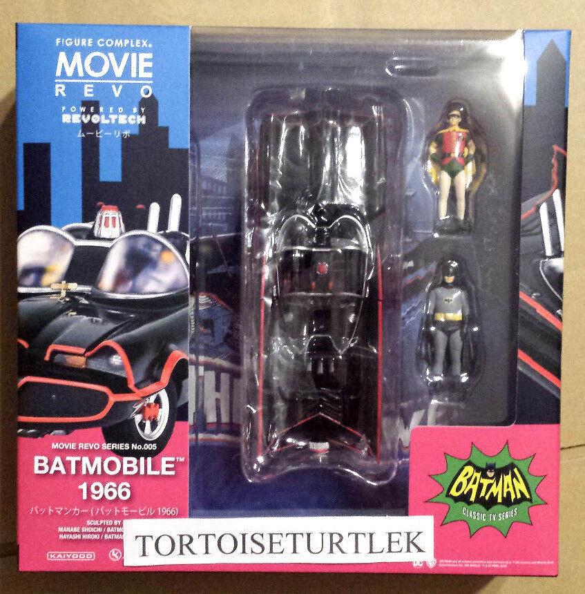 Kaiyodo cifra complex  Movie Revo Series No.005 Batmobile 1966 Batuomo auto DC  acquista marca