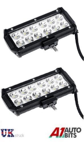 2pcs 12V 24V 36W LED Work Light Spot Beam Lamp Forklift Tracktor Backhoe Hackhoe
