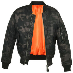 f8e93eb7c9a1a Image is loading Brandit-Tactical-MA1-Mens-Bomber-Flight-Jacket-Security-