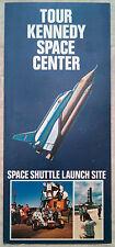 Tour Kennedy Space Center rack card brochure Space Shuttle, Titusville Florida b