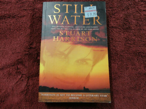 STILL WATER BY STUART HARRISON LARGE PAPERBACK BOOK