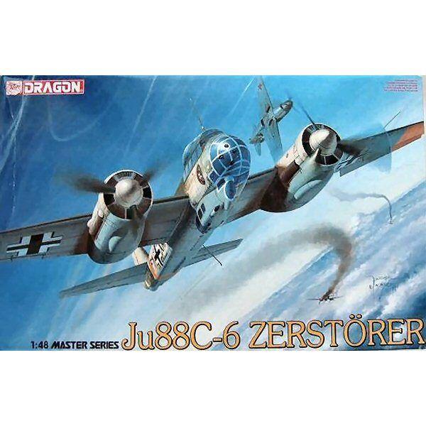 Dragon 5536 Ju 88C6 Zerstorer 1 48 scale plastic model kit