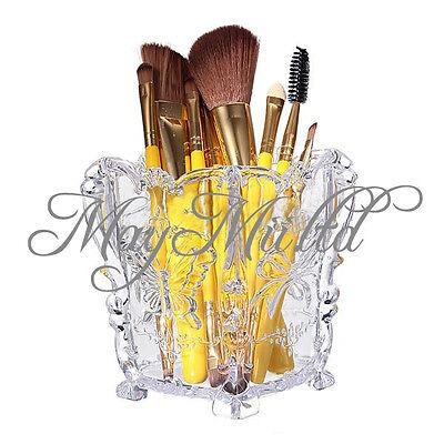Makeup Cosmetic Storage Box Case Holder Brush Pen Organizer Acrylic Decorative