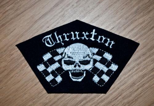 CLASSIC THRUXTON SEW ON PATCH-NORTON//TRIUMPH//CAFE RACER