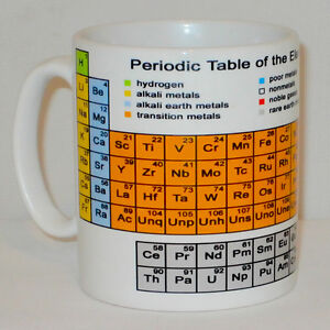 Periodic table of the elements mug science student teacher school image is loading periodic table of the elements mug science student urtaz Gallery