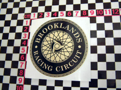 Circuit Classic Car Racer British GB Vintage UK Motor Racing Glass Sticker