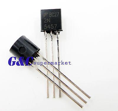 10PCS 2N5458 FSC JFET N-CH 25V 625MW TO92 New