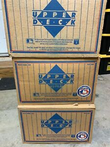 1991-Upper-Deck-Baseball-Sealed-Low-Series-Case-of-20-Factory-Boxes-QTY