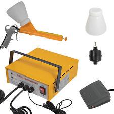 Yellow Portable Powder Coating System Paint Gun Painting Gun Coat Spray Pc03 5