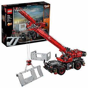 LEGO-Technic-Gelaendegaengiger-Kranwagen-42082-Bauspielzeug-Kinder-Spielzeug