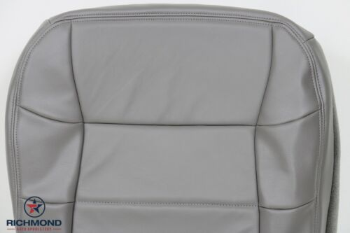 Driver Side Bottom Replacement LEATHER Seat Cover Gray 1997 Lincoln Navigator