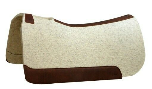 5 Star Performer 32x32 Wool Full Skirt Western Saddle Pad Roping, Reining, Trail