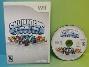 Skylanders-Game-Spyro-039-s-Adventure-Nintendo-Wii-Wii-U-Tested-Working
