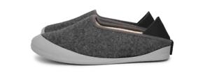 Mahabis Zapatillas, gris Con Suela Extraíble gris Lt. UK 3, EU 36 Nuevo Y Sellado