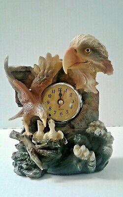 Eagle Figurine Clock//New item# A220