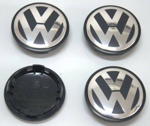 FOR VW 06-10 Touareg and others 4 X Wheel Center Hub Cap Badge 7L6601149B 70MM