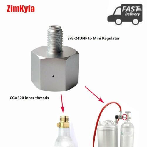 Sodastream Co2 Adaptor for Homebrew Beer Corny Cornelius Keg Mini Regulator