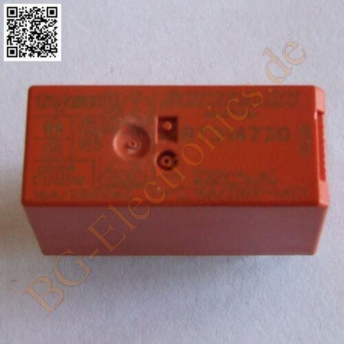16 A 1 x Wechsler 15,7mm Schrack  1pcs 1 x RT314730 RT-Leistungsprintrelais