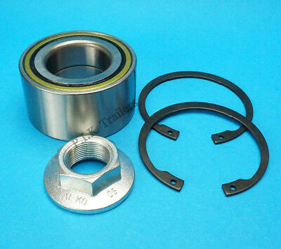 Trailer Taper Roller Bearing and Racer 25 x 52 x 16.25mm On ALKO Unbraked Hub
