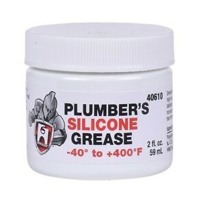 Details about HERCULES PLUMBERS SILICONE GREASE LUBRICANT FAUCET STEM O  RING AND VALVE - 40610