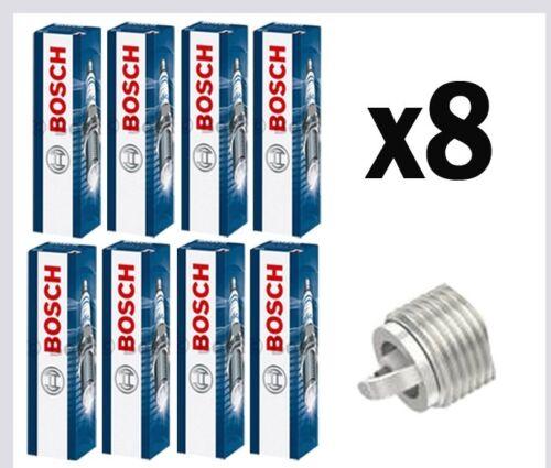 8x Bosch Spark Plugs for LEXUS LS400 4.0 CHOICE1//3 1UZ-FE 264bhp 276bhp 284bhp