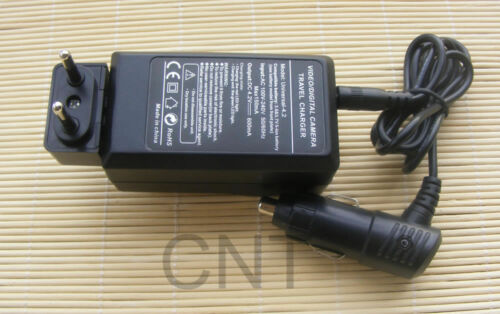 2X Battery EN-EL12 Car//Home Charger  for Nikon Coolpix AW100 P310 S9200 S9600
