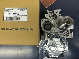 Water Pumps HI-FLO Impeller Oem Subaru Water Pump Kit EJ205