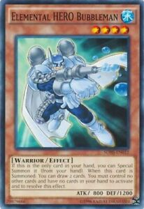 Elemental-HERO-Bubbleman-SDHS-EN012-Common-Unlimited-Edition-x3-Near-Min