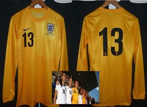 Image is loading England-womens-match-worn-player-issue-football-goalkeeper- 72abd66623