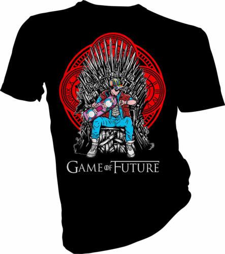 GIOCO del futuro ritorno al futuro Adulti /& Bambini T-shirt Game of Thrones