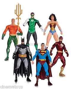 DC-JLA-Alex-Ross-Green-Lantern-Wonder-Woman-Superman-Flash-Batman-Box-Set-of-6